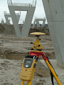 Обеспечение инженерно-прикладных работ c использованием GPS