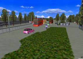 Трехмерная модель улицы