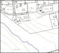 Фрагмент топографической съемки масштаба 1:5000